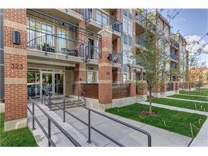 Apartment Mission Real Estate listing at #318 323 20 AV Sw, Calgary MLS® C4123171
