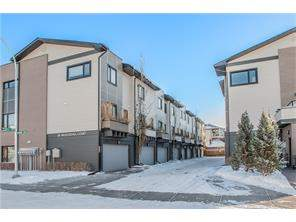 Attached Bridgeland/Riverside Real Estate listing at #109 28 Mcdougall Co Ne, Calgary MLS® C4123763