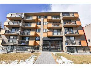 #406 916 Memorial DR Nw, Calgary Sunnyside Apartment Homes For Sale