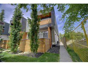 Attached Hillhurst Real Estate listing at #2 1718 Kensington RD Nw, Calgary MLS® C4126059