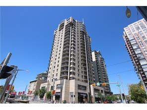 Apartment Downtown West End Real Estate listing at #1107 683 10 ST Sw, Calgary MLS® C4126183
