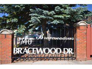 Homes For Sale located at #11 740 Bracewood DR Sw, Calgary MLS® C4126834