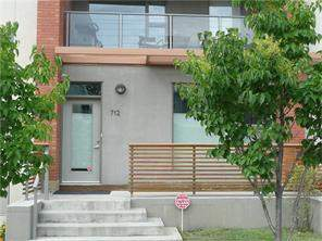 Apartment Bridgeland/Riverside Real Estate listing at 712 Mcdougall RD Ne, Calgary MLS® C4128930