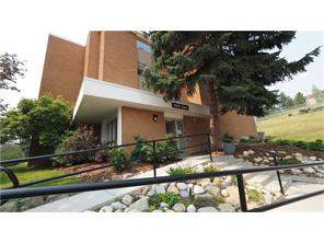 Apartment Hounsfield Heights/Briar Hill Real Estate listing at #151 1620 8 AV Nw, Calgary MLS® C4129041