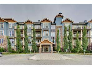 #411 201 Sunset Dr, Cochrane, Sunset Ridge Apartment Real Estate: