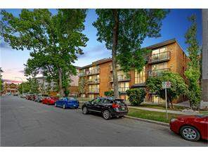 #101 924 18 AV Sw, Calgary Lower Mount Royal Apartment Real Estate: