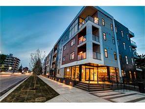 Apartment Shaganappi Real Estate listing at #115 1741 26 ST Sw, Calgary MLS® C4131623