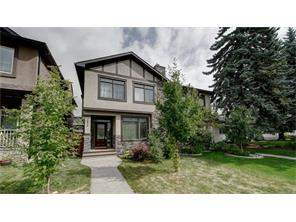 2416 1 AV Nw, Calgary West Hillhurst Attached Real Estate: