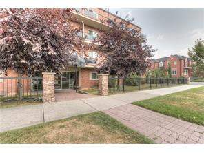Apartment Lower Mount Royal Real Estate listing at #101 808 Royal AV Sw, Calgary MLS® C4133223
