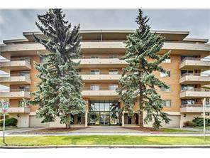 Apartment Upper Mount Royal Real Estate listing #304 629 Royal AV Sw Calgary MLS® C4133282