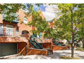 Attached Lower Mount Royal real estate listing Calgary