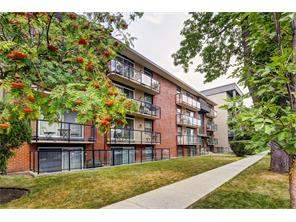 #404 924 18 AV Sw, Calgary Lower Mount Royal Apartment Homes For Sale