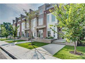 2007 1 AV Nw, Calgary West Hillhurst Attached Real Estate: