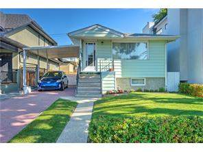 Detached West Hillhurst real estate listing Calgary