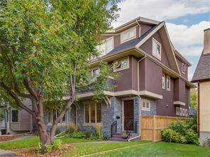 Attached Sunnyside real estate listing Calgary