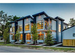 1209 1 ST Ne, Calgary, Crescent Heights Attached Real Estate: