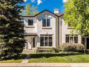 Attached West Hillhurst real estate listing Calgary
