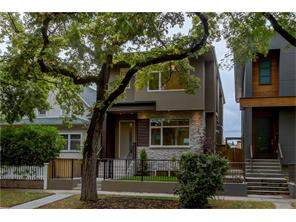 Detached Bridgeland/Riverside real estate listing Calgary