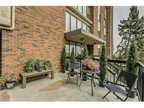 #105 354 2 AV Ne, Calgary, Crescent Heights Apartment Real Estate: