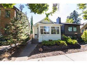 Detached Mount Pleasant real estate listing Calgary