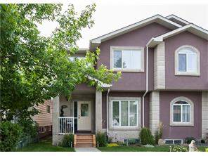 Attached Highland Park Real Estate listing 3913 1 ST Nw Calgary MLS® C4138681