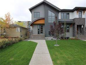 Attached West Hillhurst Real Estate listing 2517 2 AV Nw Calgary MLS® C4138749 Homes for sale