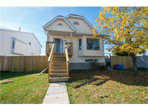 Detached Erin Woods real estate listing Calgary