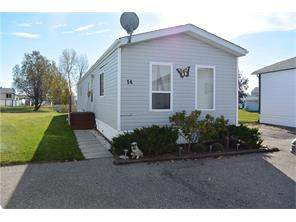 Ranch Estates Mobile home in Strathmore