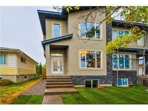 Attached Highland Park real estate listing Calgary