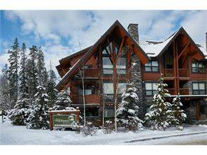 Three Sisters #102 2100a Stewart Creek Dr, Canmore, Apartment homes