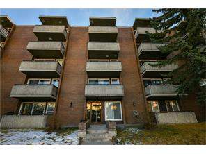 Apartment Lower Mount Royal Calgary real estate