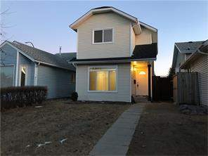 Calgary Detached Martindale Calgary real estate