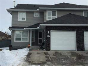 Attached Fairways Airdrie real estate