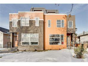 Crescent Heights Calgary Attached homes