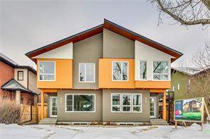832 22 AV Nw, Calgary, Attached homes