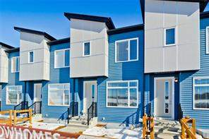 Redstone Calgary Attached homes