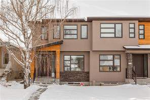Highland Park Calgary Attached homes