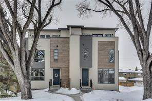 715 55 AV Sw, Calgary, Attached homes