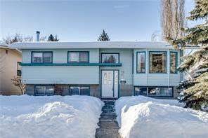 Detached Brentwood Calgary real estate