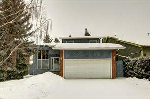 Detached Coach Hill Calgary real estate