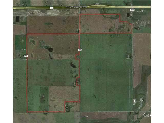 MLS® #C1026446 - Range Road 264  Trans Canada Hwy Rd in None Rural Wheatland County, Land