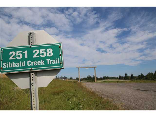 MLS® #C3630887 251258 Sibbald Creek Tr  Rural Rocky View County Alberta