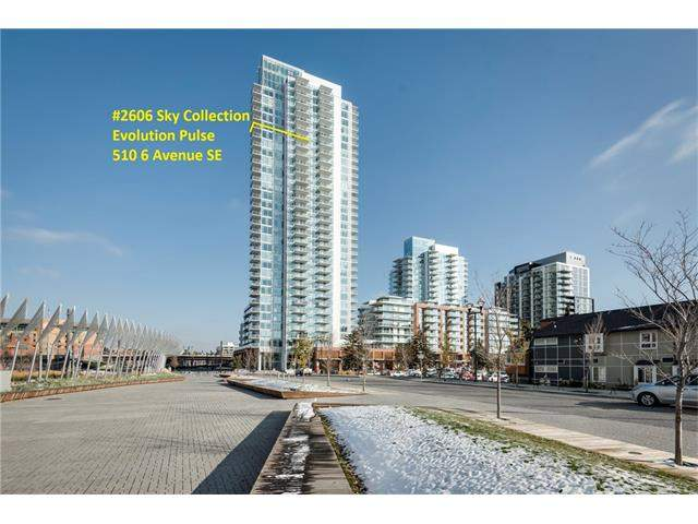 MLS® #C4085609 - #2606 510 6 AV Se in Downtown East Village Calgary