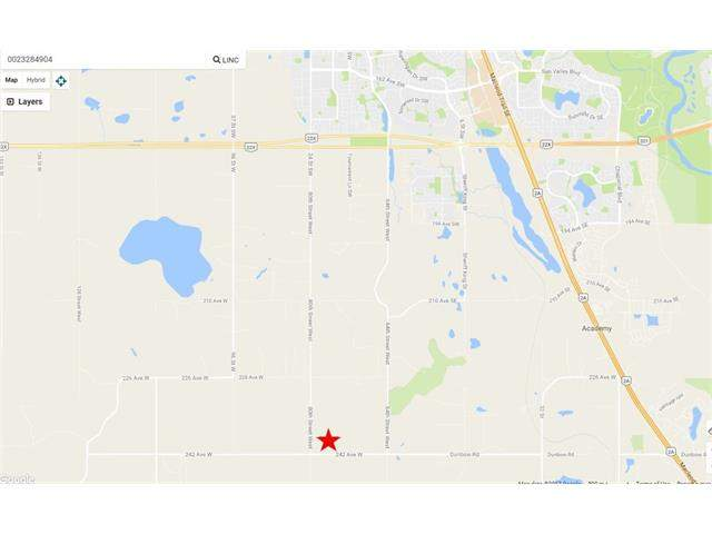 MLS® #C4111539 - 96 Street 242 Avenue in None Rural Foothills M.D., Land