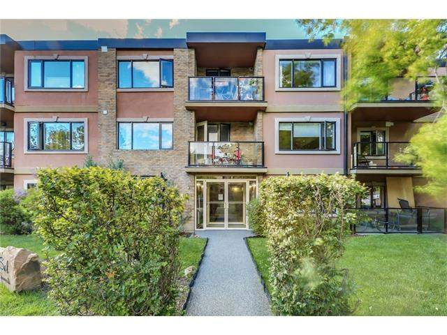 MLS® #C4140617 - #307 716 3 AV Nw in Sunnyside Calgary, Apartment