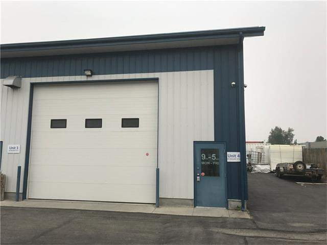 #unit 4 60 Railway ST E in Industrial Cochrane MLS® #C4150315