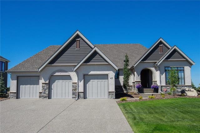 43 Stoneypointe Pl, Rural Rocky View County Watermark real estate, Detached Watermark homes for sale