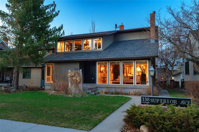 Upper Scarboro real estate listings 338 Superior AV Sw, Calgary