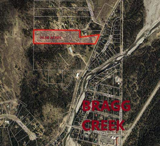 16.06 Acres- Wintergreen Road, Bragg Creek  Bragg Creek homes for sale