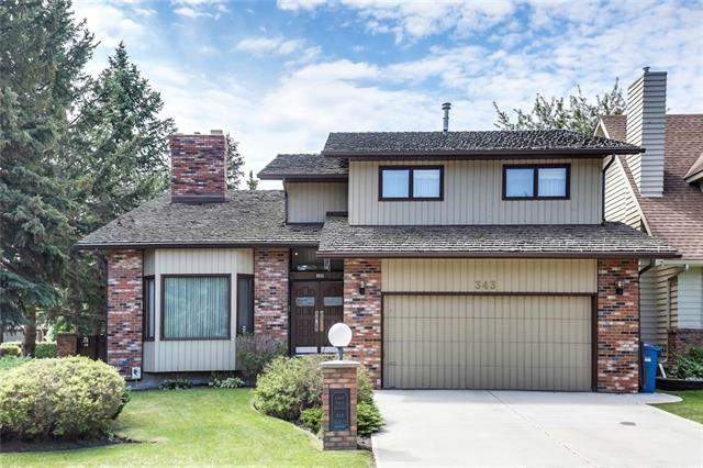 343 Canter PL Sw, Calgary  Canyon Meadows Estates homes for sale